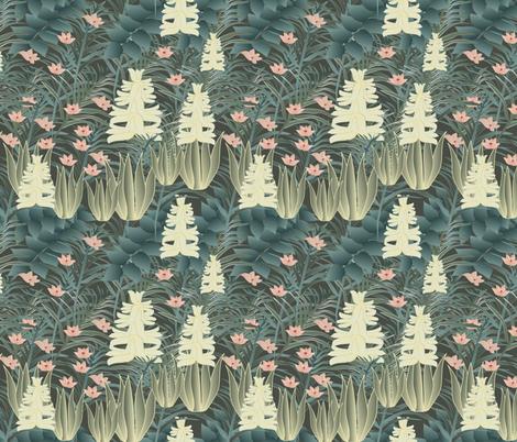 jungle 3 fabric by kociara on Spoonflower - custom fabric