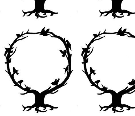Circular Tree fabric by ad_astra on Spoonflower - custom fabric