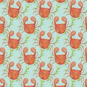Fancy Crabs by idyl-wyld design
