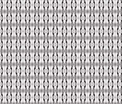 Betty Davis Eyes with Guitar Tweed fabric by walkwithmagistudio on Spoonflower - custom fabric