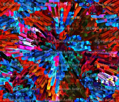 Rainbow Explosion Yarn (mirror repeat)