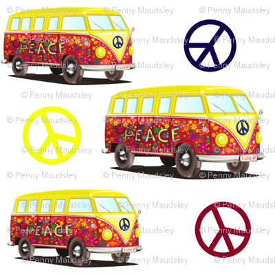 PEACE AND LOVE AND CAMPING
