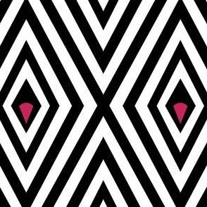 Diamond and Pink