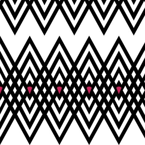 Diamond Stripe fabric by pond_ripple on Spoonflower - custom fabric