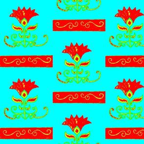 Folk Art Flower 2