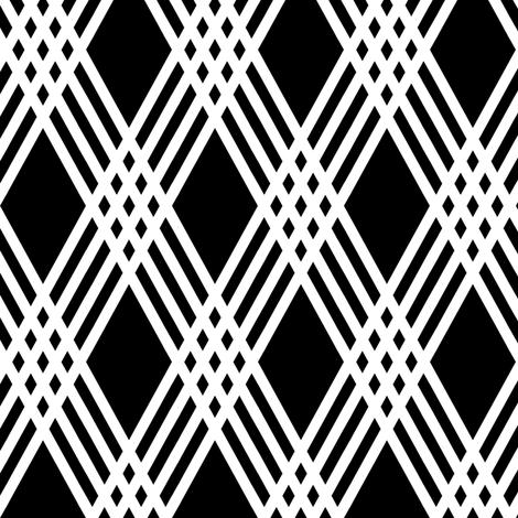 Diamond Inverted Plaid fabric by pond_ripple on Spoonflower - custom fabric