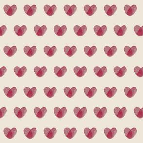 Fingerprint Hearts