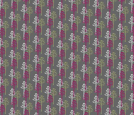 Modern Agave Stalks  fabric by joyfulroots on Spoonflower - custom fabric