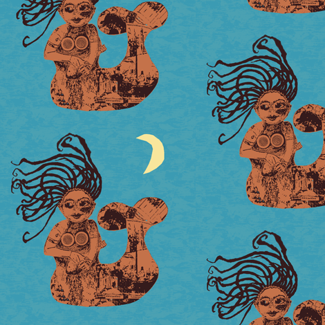 Seaworthy 4 fabric by nalo_hopkinson on Spoonflower - custom fabric
