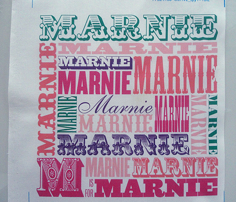 MARNIE Pillow Cover (Custom)