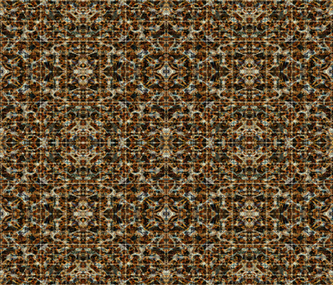 Low Pile Carpet from a Kansas City 1960s Split-Level House fabric by anniedeb on Spoonflower - custom fabric