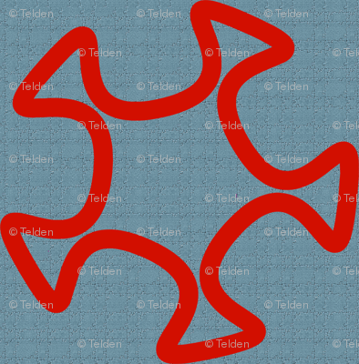 Scribbleweb - Red