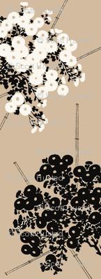 Bamboo and Chrysanthemum