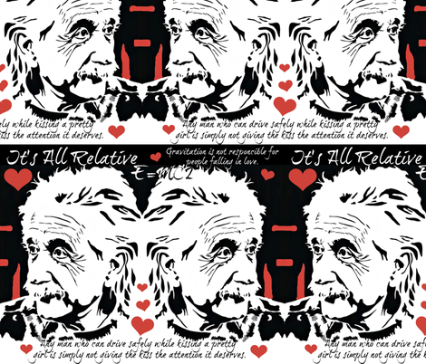 Ultamate Geek Love fabric by whimzwhirled on Spoonflower - custom fabric