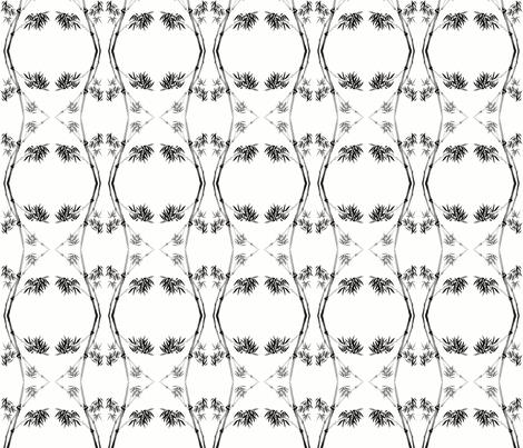 Brush Bamboo fabric by flyingfish on Spoonflower - custom fabric