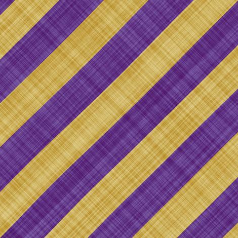 Diagonal Linen Stripe - Purple Yellow fabric by bonnie_phantasm on Spoonflower - custom fabric
