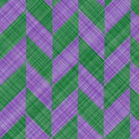 Chevron Linen - Zigzag Alternate - Lavender Green fabric by bonnie_phantasm on Spoonflower - custom fabric
