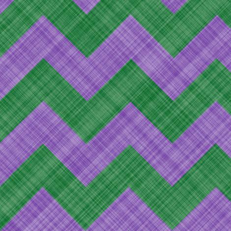 Chevron Linen - Zigzag - Lavender Green fabric by bonnie_phantasm on Spoonflower - custom fabric
