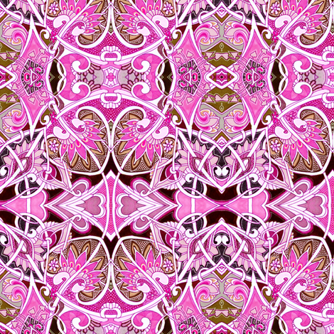 Just an Old Fashioned Valentine fabric by edsel2084 on Spoonflower - custom fabric