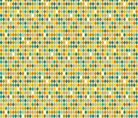 circus diamonds fabric by kaeselotti on Spoonflower - custom fabric