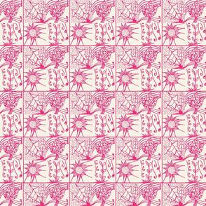 blk/wht flowers-ch