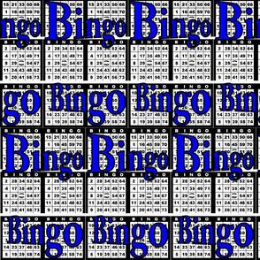 Bingo Black paper with Bingo text