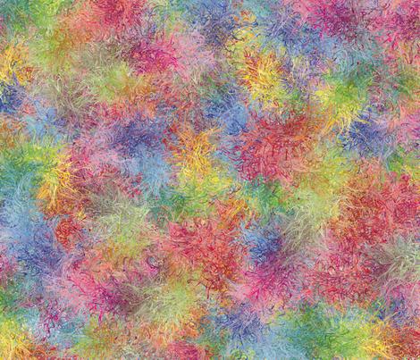 CJC Mardi Gras Pinwheels fabric by carla_joy on Spoonflower - custom fabric