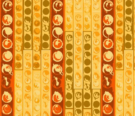african_orange fabric by tat1 on Spoonflower - custom fabric