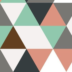 triangle powder & mint