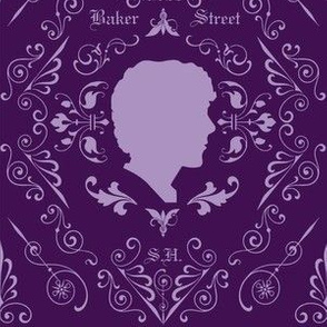 Sherlock Damask Large