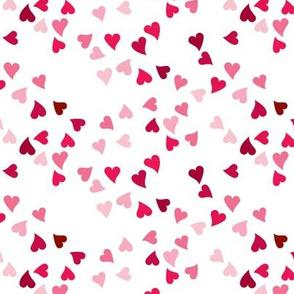 Tonal Pink Ditzy Hearts