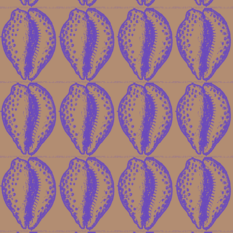 cowrie shells fabric by nalo_hopkinson on Spoonflower - custom fabric