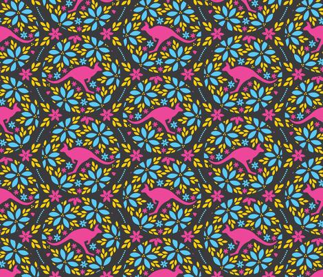 Flowers & Roos fabric by robyriker on Spoonflower - custom fabric