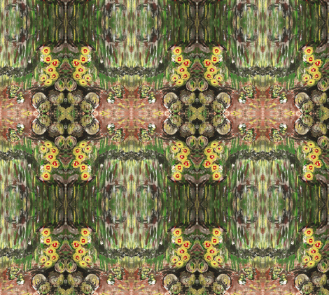desertflowers fabric by sewbiznes on Spoonflower - custom fabric