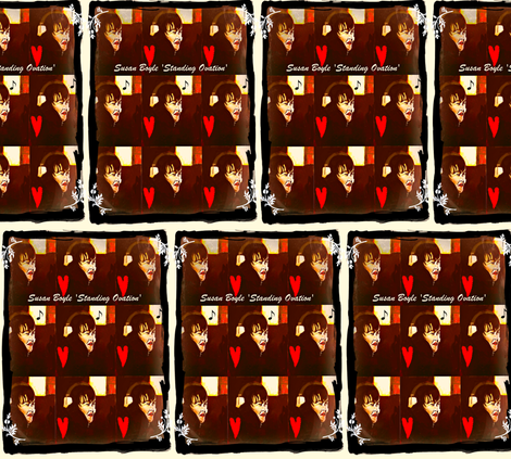 Susan Boyle fabric by jumanamouradi on Spoonflower - custom fabric
