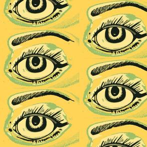 Eye spy eyeshadow yellow