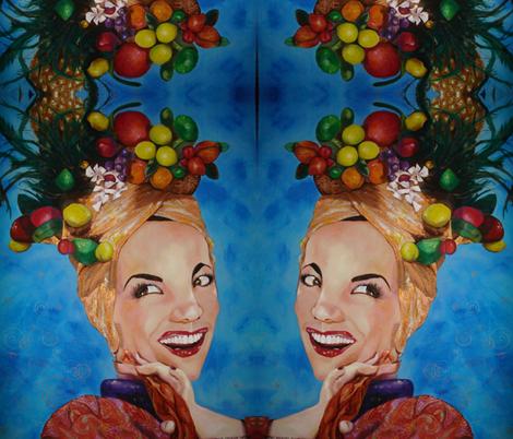 Carmen! fabric by crazrtist on Spoonflower - custom fabric