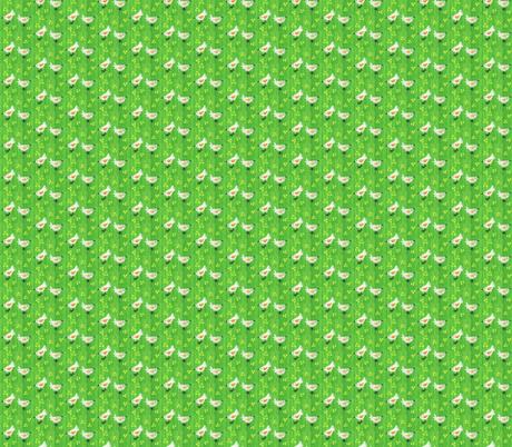 chicks- fabric by mybohohome on Spoonflower - custom fabric