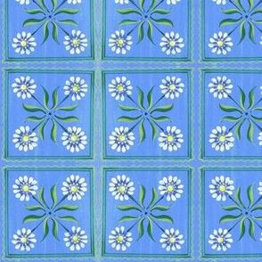 Small Daisy-Blue