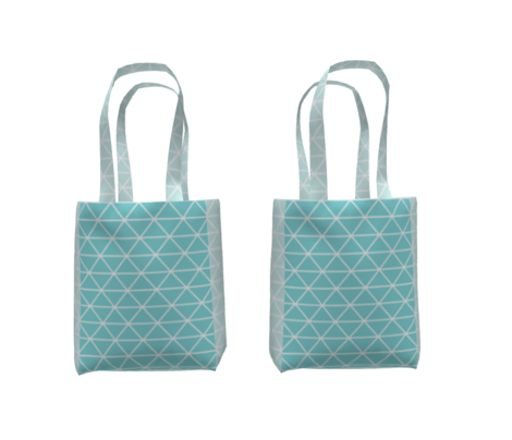 Triangle Baby Mint Blue