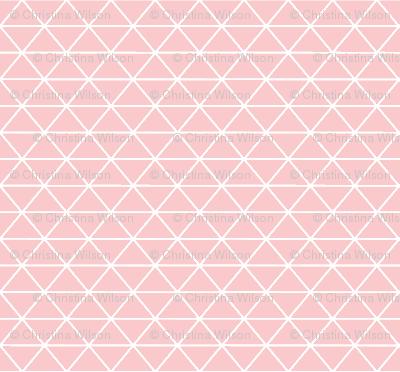 Triangle Pretty Pink