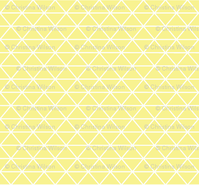 Triangle Mellow Yellow