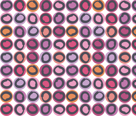 ring_pink fabric by antoniamanda on Spoonflower - custom fabric