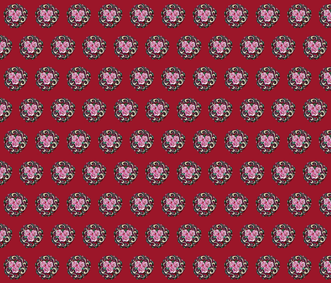 gypsy_roses fabric by mybohohome on Spoonflower - custom fabric
