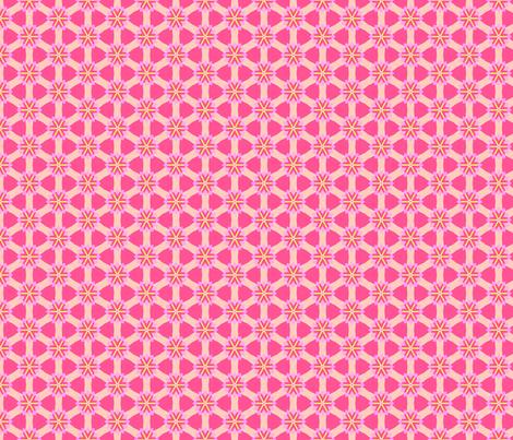 Pretty Patterns Damask Stars Floral - Nov 2012 - 31 fabric by phenompixels on Spoonflower - custom fabric