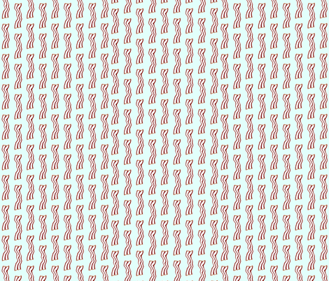 Bacon fabric by pretty_chalk on Spoonflower - custom fabric