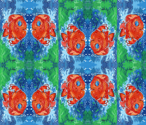 fish_2 fabric by tat1 on Spoonflower - custom fabric