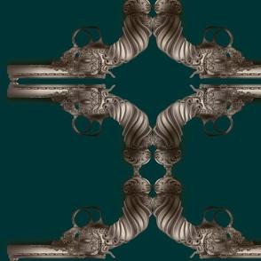steampunk-gun-teal