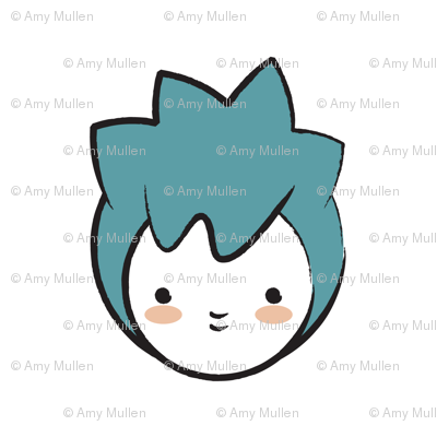 Blue Girl Pattern