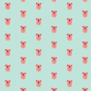 koala - pink
